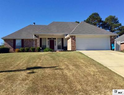 West Monroe Single Family Home For Sale: 120 Lake Powell Drive