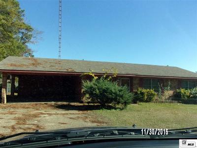 Lincoln Parish Single Family Home Active-Pending: 884 Rwe Jones Drive