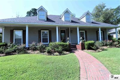 West Monroe Single Family Home For Sale: 205 Bayside Drive