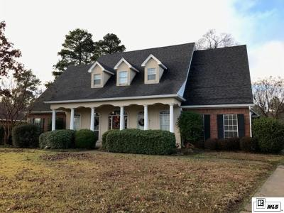 West Monroe Single Family Home For Sale: 307 E Lafayette Drive