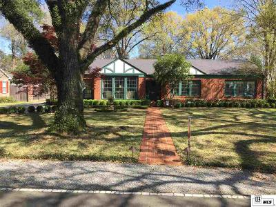 Monroe Single Family Home For Sale: 1912 Stuart Avenue