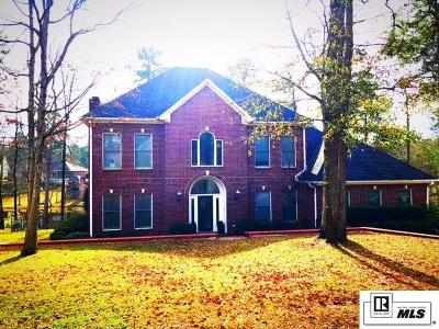 West Monroe Single Family Home For Sale: 206 Bayside Drive