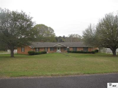 West Monroe Single Family Home For Sale: 245 Peach Ridge Road