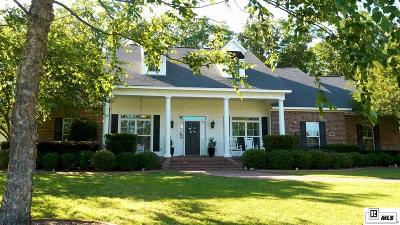 West Monroe Single Family Home For Sale: 101 Rue Toulouse