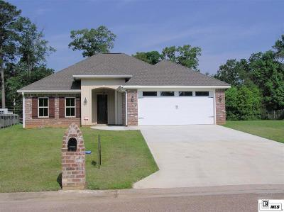 West Monroe Single Family Home For Sale: 121 Creole Lane