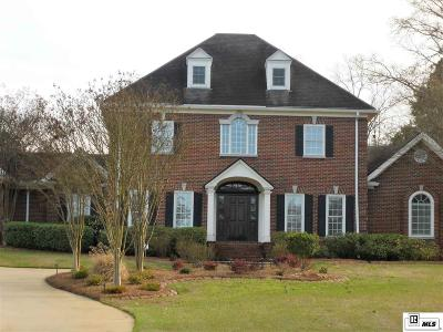 West Monroe Single Family Home Active-Contingent 72 Hrs: 210 Petrus Circle