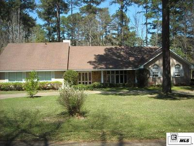 Ruston Single Family Home For Sale: 403 Quail Lane