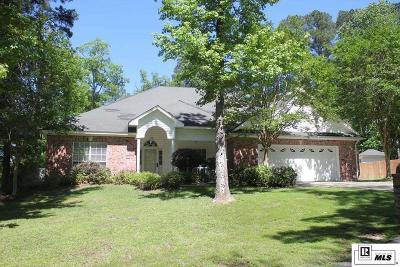 West Monroe Single Family Home For Sale: 105 Oak Creek Drive