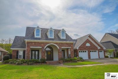 Monroe LA Single Family Home For Sale: $439,500