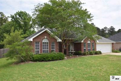 West Monroe Single Family Home For Sale: 102 Hidden Lakes Drive
