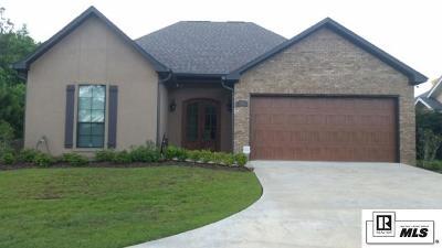 West Monroe LA Single Family Home For Sale: $269,900
