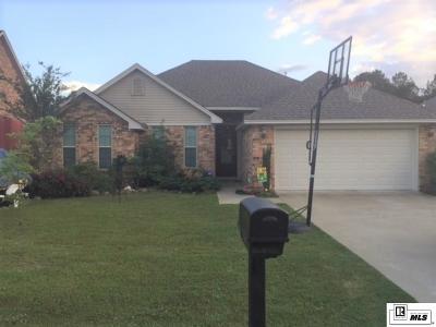 Calhoun LA Single Family Home For Sale: $187,000