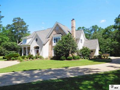 West Monroe Single Family Home For Sale: 2290 Caples Road