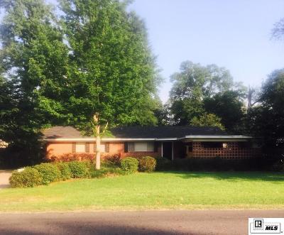 Monroe LA Single Family Home For Sale: $149,500