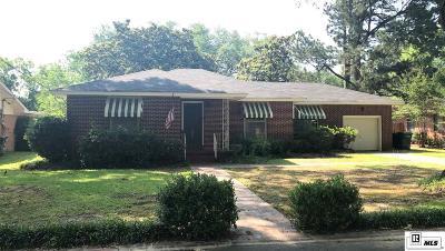 Monroe LA Single Family Home For Sale: $165,000