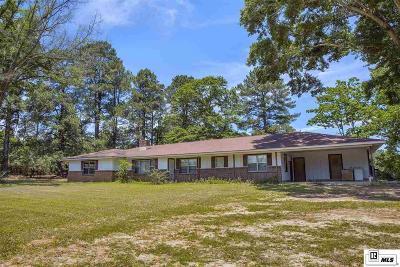 Calhoun LA Single Family Home For Sale: $189,999