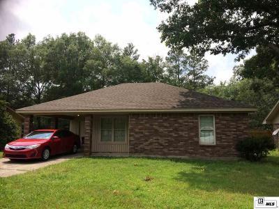 Monroe LA Single Family Home For Sale: $140,000