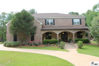 West Monroe Single Family Home For Sale: 348 Lafayette Drive