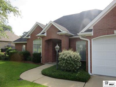 West Monroe LA Single Family Home Active-Contingent: $244,500