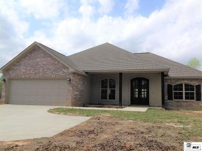 West Monroe Single Family Home For Sale: 1786 Britton Road