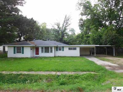 Sterlington LA Single Family Home For Sale: $99,900