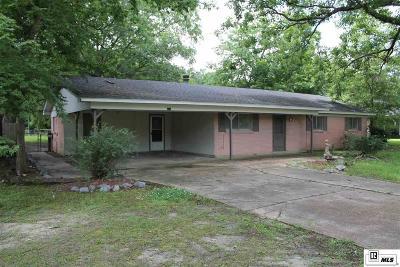Monroe LA Single Family Home For Sale: $125,000