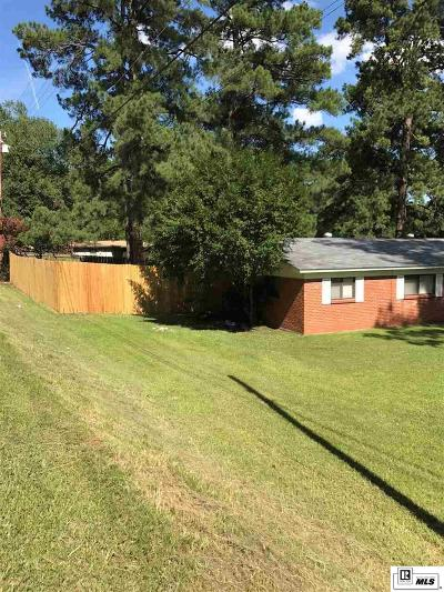 West Monroe LA Single Family Home For Sale: $129,000