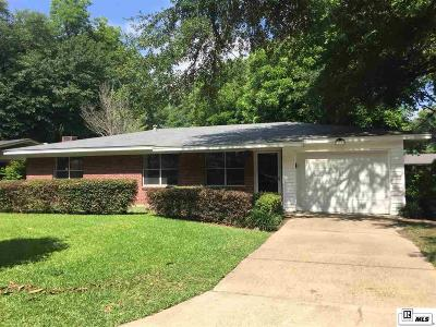 Monroe LA Single Family Home Pending Continue To Show: $118,900