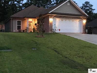 West Monroe LA Single Family Home For Sale: $198,500