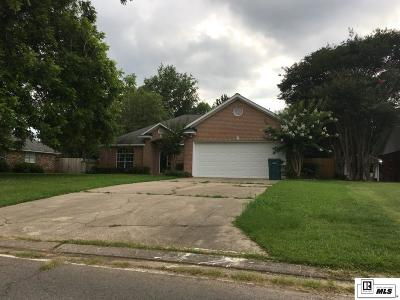 Monroe LA Single Family Home For Sale: $258,000