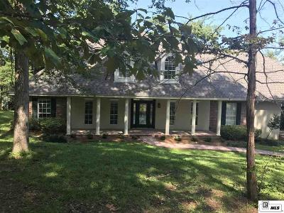 West Monroe Single Family Home For Sale: 128 Eagle Lake Drive