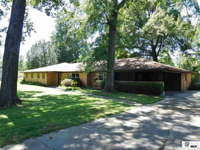 Monroe LA Single Family Home For Sale: $159,000