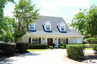 Monroe Single Family Home For Sale: 3811 Bayside Circle