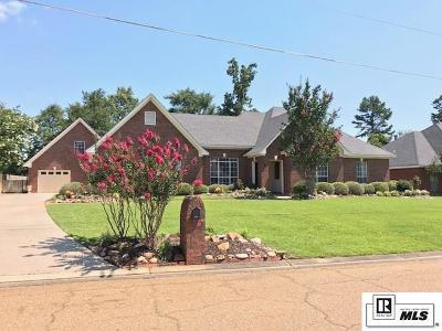West Monroe Single Family Home Active-Pending: 409 E Lafayette Drive