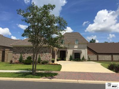 Monroe Single Family Home For Sale: 1415 Toulouse Drive