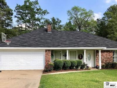 West Monroe LA Single Family Home For Sale: $237,900