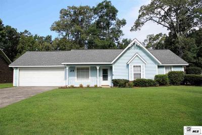 West Monroe LA Single Family Home Active-Price Change: $189,900