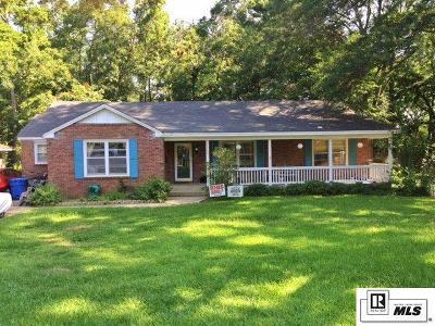 Ruston Single Family Home For Sale: 1108 Carey Avenue