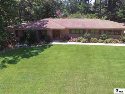 Ruston Single Family Home For Sale: 2801 Lakeshore Drive