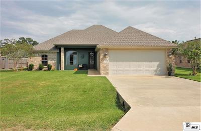 Sterlington LA Single Family Home For Sale: $249,000