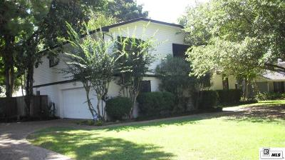 Monroe Single Family Home For Sale: 3211 Claiborne Circle