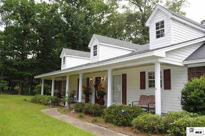 West Monroe Single Family Home For Sale: 109 Emerald Drive
