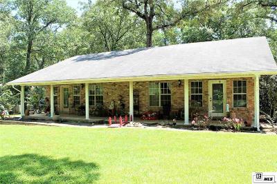 Calhoun LA Single Family Home For Sale: $173,900