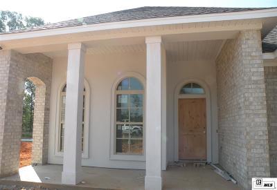Monroe LA Single Family Home For Sale: $270,000