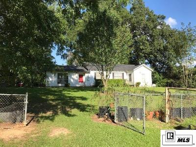 Ruston Single Family Home For Sale: 10692 Clay Ansley Highway