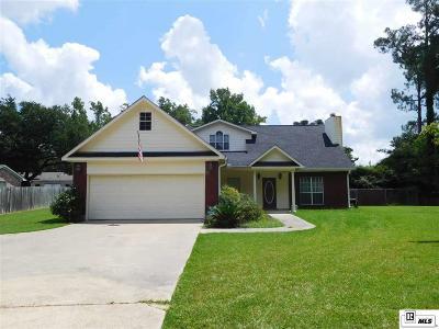 West Monroe LA Single Family Home For Sale: $234,000