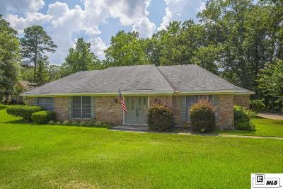 West Monroe LA Single Family Home For Sale: $185,000