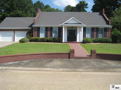 West Monroe LA Single Family Home For Sale: $255,300