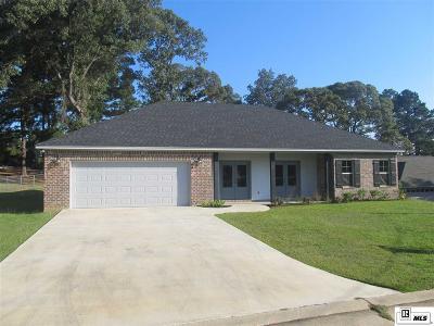 West Monroe LA Single Family Home For Sale: $244,000