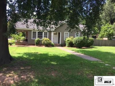 Monroe LA Single Family Home Active-Pending: $194,500